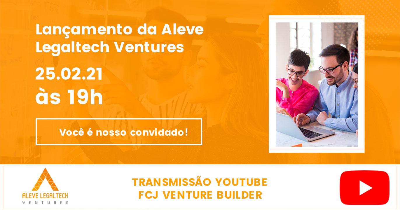 Lançamento da Aleve LegalTech Ventures